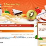 Free Blogger Templates Download: A Spoon of Joy