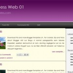 Free Blogger Templates Download: Business Web 01