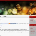 Free Blogger Templates Download: Perfetika