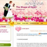 Free Blogger Templates Download: The Shape of Heart