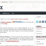 Free Blogger Templates Download: Vivex