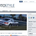 Free Blogger Templates Download: Auto Style