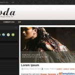 Free Blogger Templates Download: Moda