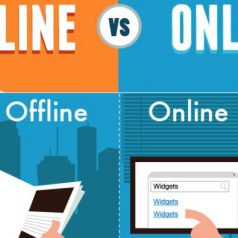 offline and online marketing